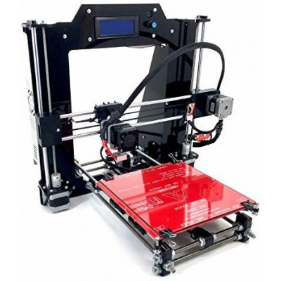 RepRapPrusa I3 (V2) Black 3D Printer Kit