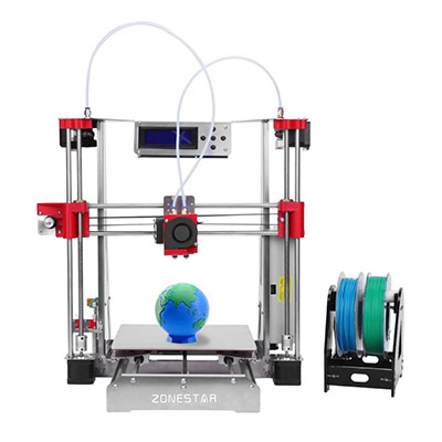 ZONESTAR i3 Metal FDM 3D Printer DIY Kit