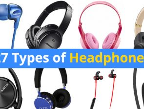 27 Types of Headphones
