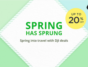 DJI Spring Sale Ending Soon (Mavic Pro, Mavic Air, Spark, and Phantom)