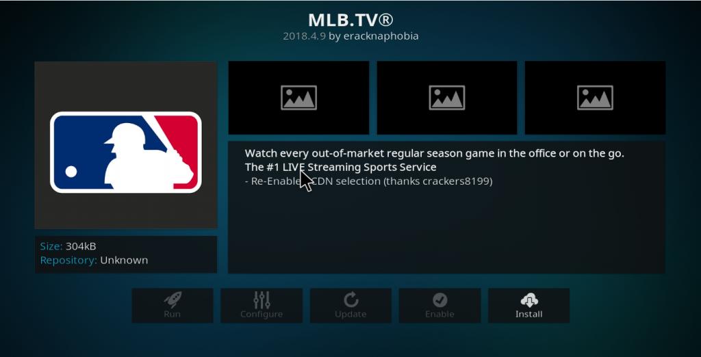 MLB.tv Kodi Add-on