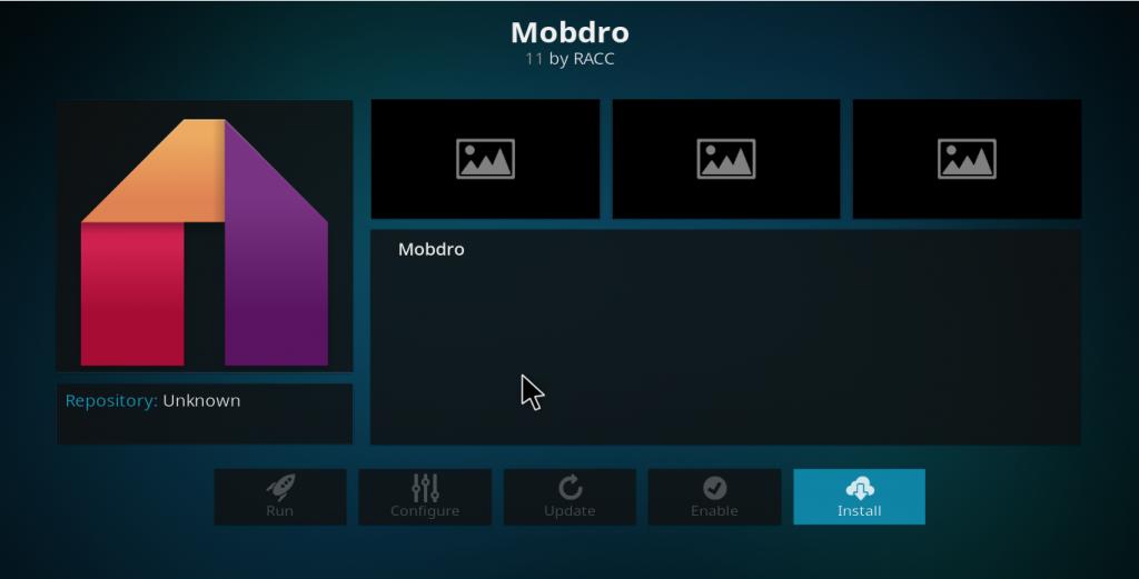 Mobdro Kodi Add-on