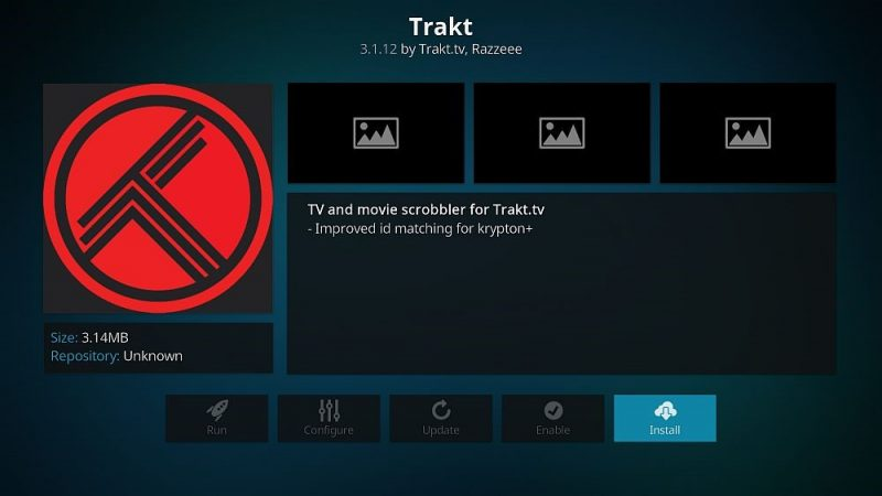 Trakt Kodi Add-on