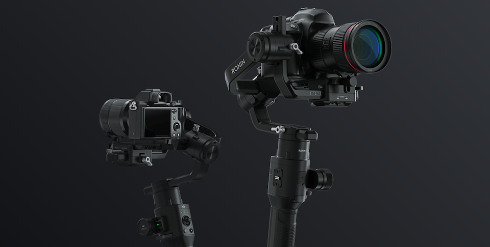 DJI Releases Ronin-S DSLR and Mirrorless Camera Stabilizer