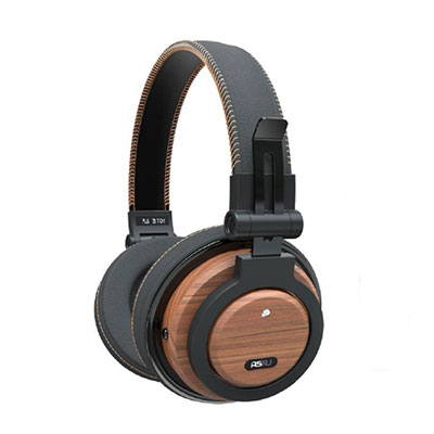 ADM-LC Multi-function Walnut Wooden Bluetooth Headphone
