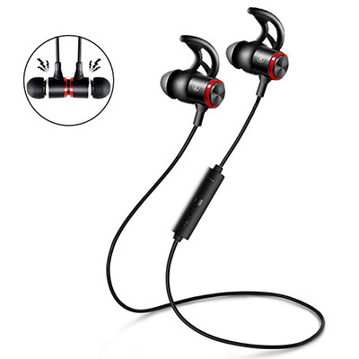 Earbuds with microphone wireless bluetooth - earbuds with earhooks wireless