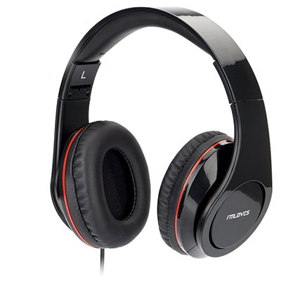 FMLOVES Active Noise Cancelling Over ear Headphone