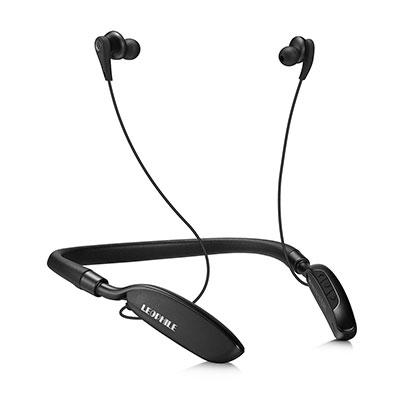 LEOPHILE ZERO Active Noise Cancelling Bluetooth Neckband Headphones