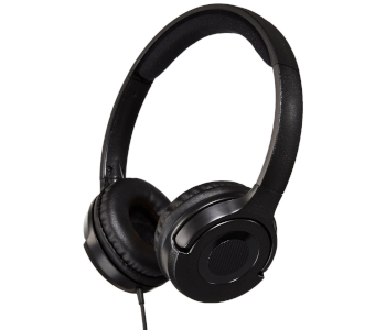 AmazonBasics Lightweight On-Ear Headphones