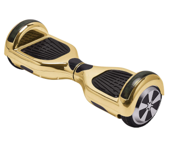 Chrome Gold Hoverboard