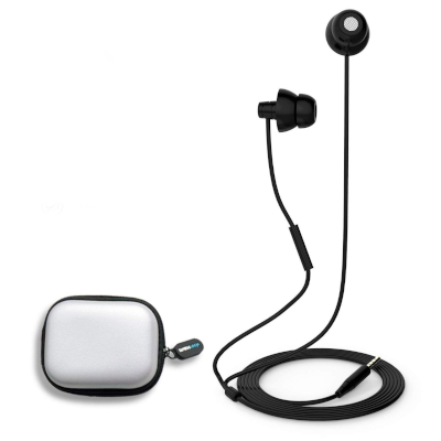 MAXROCK Unique Total Soft Silicon Super Comfortable Sleeping Headphones