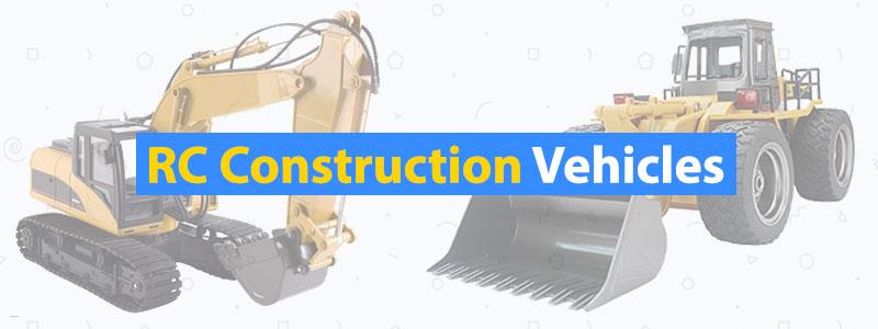 Best RC Construction Vehicles Bulldozer Crane Excavator
