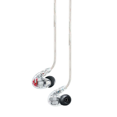 Shure SE846-CL Sound Isolating Earbuds with Quad High Definition MicroDrivers and True Subwoofer