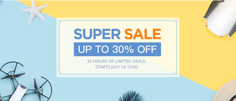 36 Hour DJI Sale on Mavic Pro, Spark, and Phantom 4 Drones