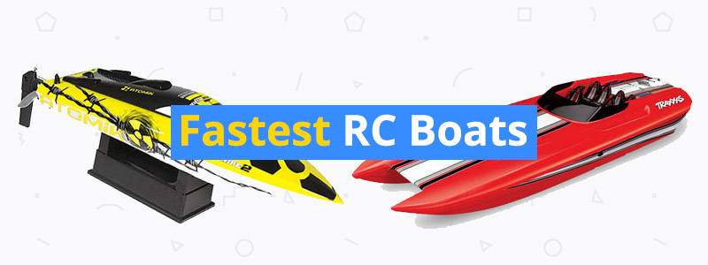 8 Fastest Electric RC Boats