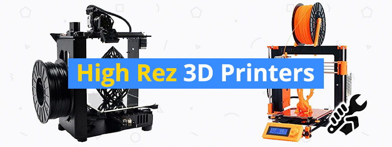 Best High-Resolution 3D Printers - 10, 20, and 50 Micron - 3D Insider