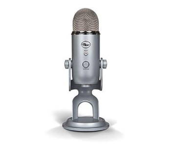 Blue Yeti Multi-Pattern USB Platinum Microphone