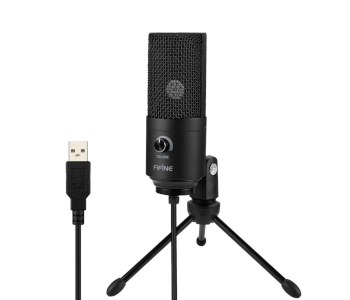 Fifine Entry-Level USB Mic for YouTube