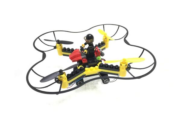 Force Flyers Bog Basic Building Block Drone Kit