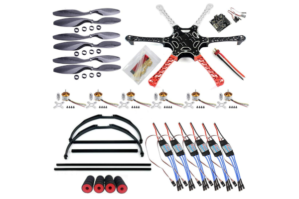 QWinOut F550 Airframe RC Hexacopter DIY Kit
