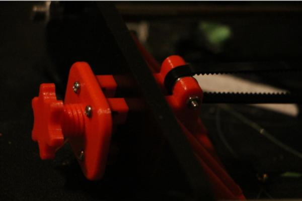 Y-belt tensioner