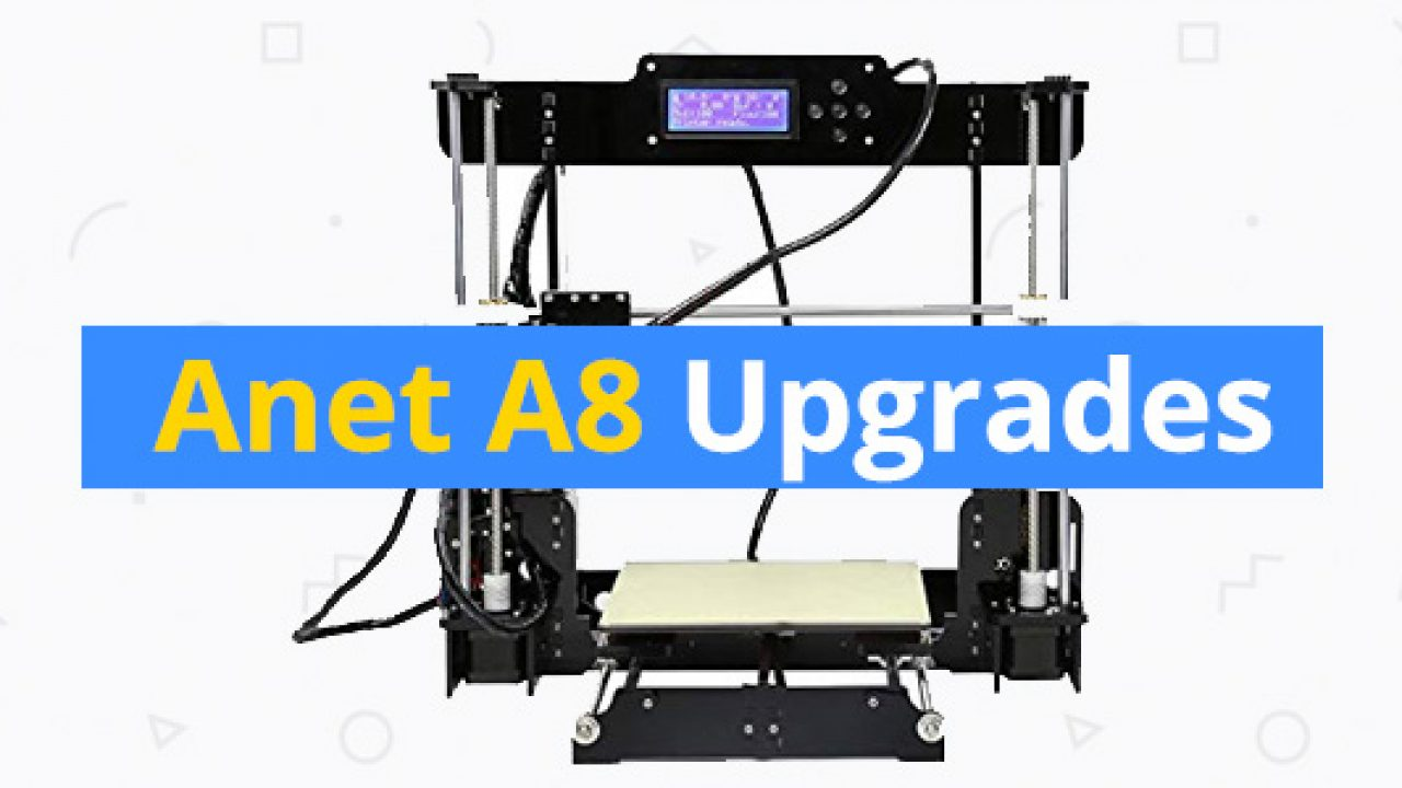 It is an image of Anet A8 Printable Upgrades regarding stepper motors