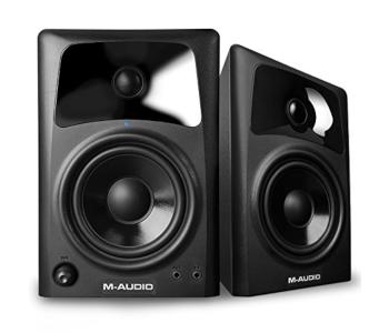 M-Audio AV42 | 20-Watt Compact Studio Monitor Speakers with 4-inch Woofer
