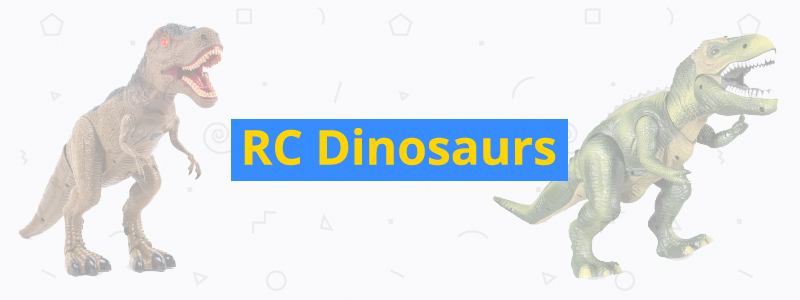 best RC dinosaurs