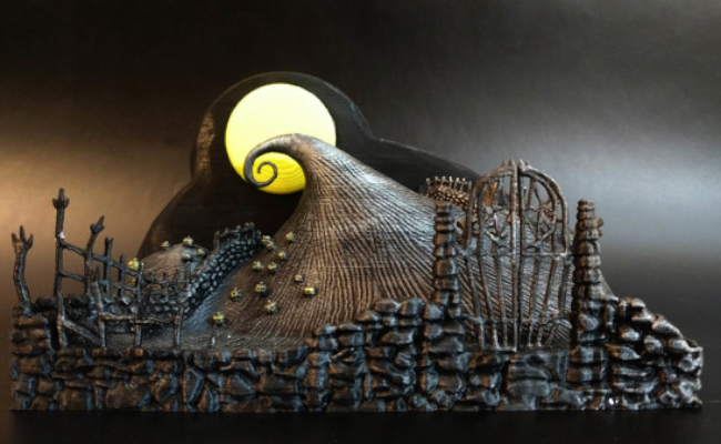 The Nightmare before Christmas Diorama