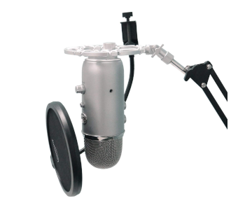 Auphonix Silver Shock Mount for Blue Yeti