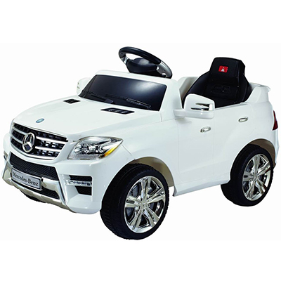 Costzon White Electric Mercedes Benz ML350
