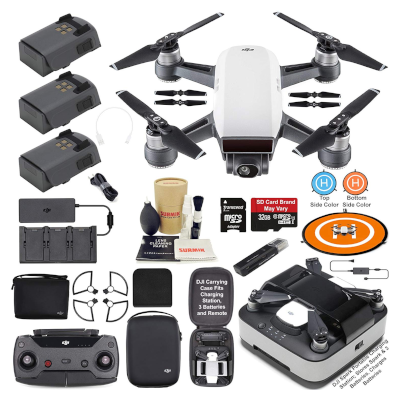 DJI Spark Camera Drone Quadcopter Fly More Combo
