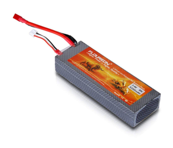 Floureon 7.4V 5200mAh 2S Hard Case LiPo