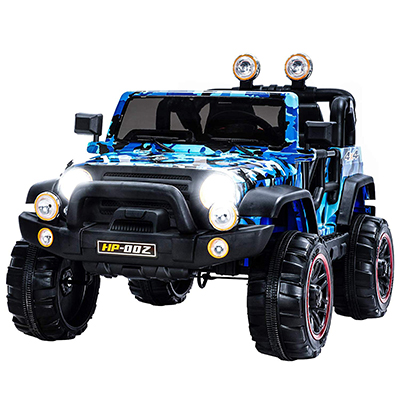 Uenjoy 4-speed Electric RC Jeep for Children