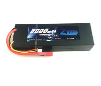 Zeee 7.4V 8000mAh 2S LiPo Hard Case