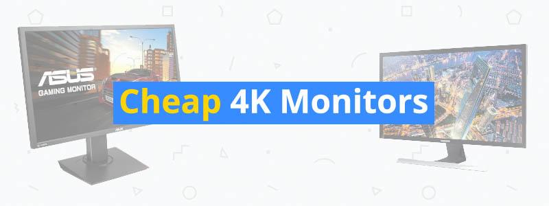 5 Best Cheap 4K Monitors