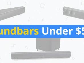 7 Best Soundbars Under $500
