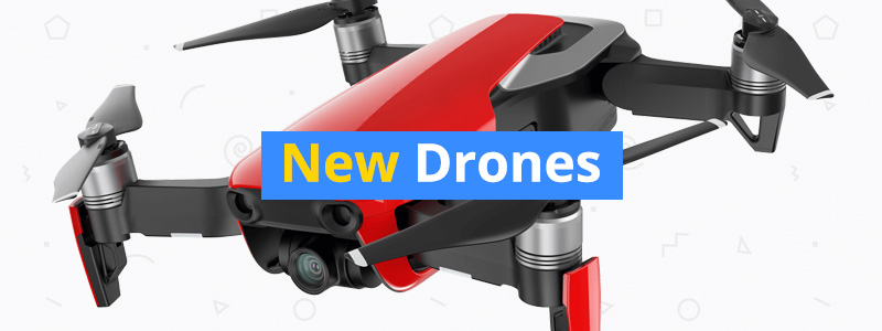 15 New Drones That Have Been Released in 2018