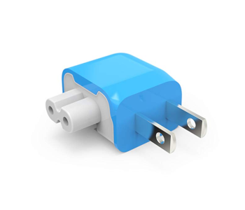 Blockhead Side-Facing Plug for Apple Adapters and Chargers