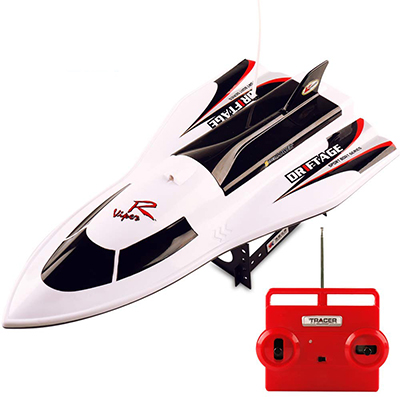 HQQN RC Kid's Boat for Pools & Lakes