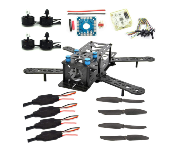 LHI 250mm Pro Carbon Fiber Quad Kit