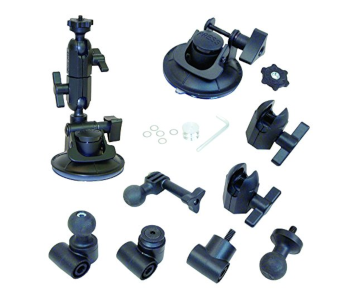 Panavise 3-in-1 Suction Cup Mount