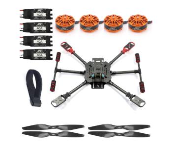 QWinOut X4 Carbon Fiber Foldable Drone Kit