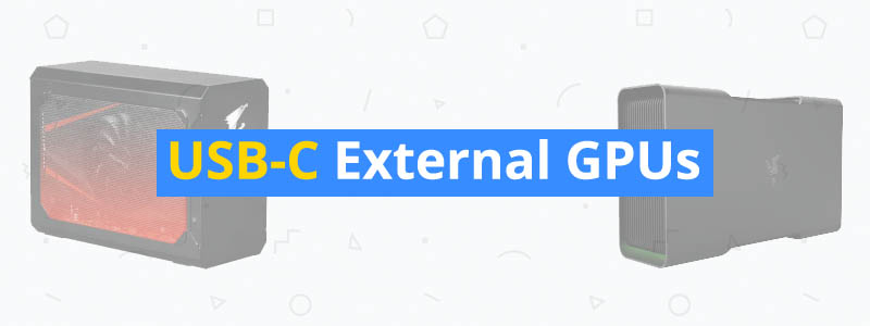 best usb-c external gpus