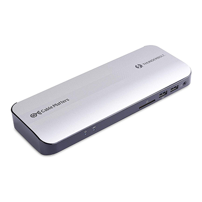 Cable Matters Aluminum Thunderbolt 3 Dock