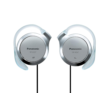 Panasonic RP-HZ47-S clip-on headphones