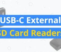 best USB-C External SD Card Readers