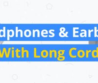 best headphones and earbuds with long cord