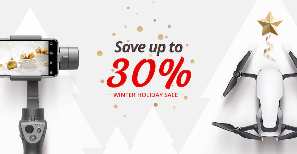 Final Chance for DJI Winter Sale on Mavic Air, Spark, and more