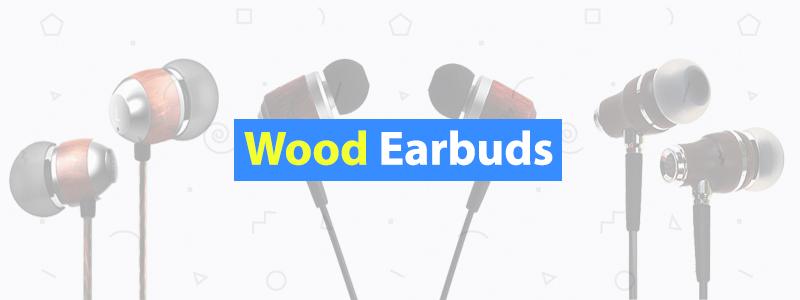 Wood-Earbuds